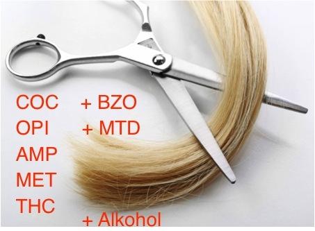 Haaranalyse Multidrug und Alkohol (EtG) / MPU