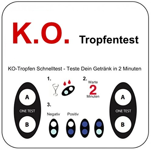 KO-Tropfentest 10er Pack